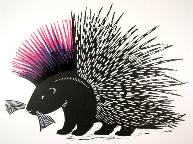 Punky Porcupine by Josephine Sumner